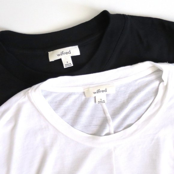 Lot of 2 Cropped Wilfred Tops Size S